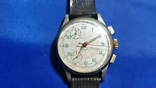 Vintage Berco Chronograph Telemeter Men's Watch Swiss Made
