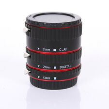 Red Metal Auto Focus Macro Automatic Extension Tube for Kenko Canon EF-S Lens
