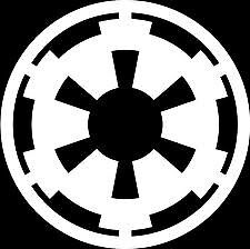 Star Wars Imperial Empire Cog Car Stickers BUY 1 GET 1 FREE *FREE POSTAGE*