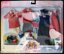 Alan & Ryan Midge Nikki Fashion Happy Family Barbie Doll Blue Red Clothes Outfit