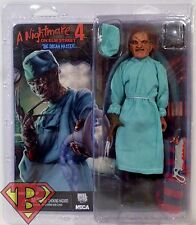 "SURGEON FREDDY KRUEGER A Nightmare on Elm Street 4 Clothed 8"" Action Figure 2016"