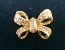 vintage Christian Dior bow brooch