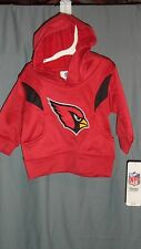 Arizona Cardinals Toddler Size 2T Primary Logo Pullover Hoodie  NEW