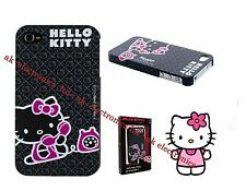 NUEVO genuino Hello Kitty envolver caso cubierta de protector duro para Apple iPhone 4 4s