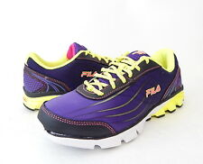 NWB Fila Women's Head Of The Pack Energized Running Shoe Size 8 B (US) Purple