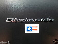GENUINE CITROEN SAXO LIMITED EDITION STATESIDE BADGE CIT7404