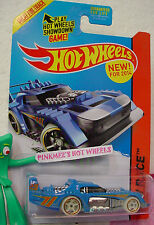 Case A/Q 2014 Hot Wheels TWO TIMER #190 ☆ Blue; Glow in Dark ; 29 ☆Night Storm
