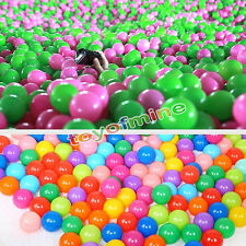 "1.57""100 Colorful Ball Ocean Balls Soft Plastic Ocean Ball Baby Kid Swim Pit Toy"