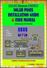 SOLAR PANEL INSTALLATION GUIDE & USER MANUAL (INDIA) With all Glossary on CD