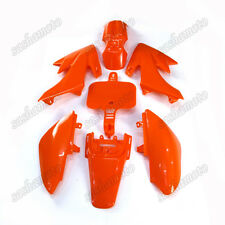 Orange Fairing Plastic Fender Kit For Honda SSR CRF XR XR50 CRF50 Pit Dirt Bike