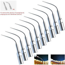 10pcs Dental Ultrasonic Piezo Scaler Tip GD3 Fit DTE SATELEC Scaler Handpiece