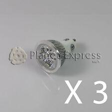 3 x Bombilla 4W LED GU10 Blanco Neutro o Dia 220V 350 lumen Bajo Consumo eq. 40W