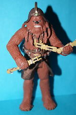 STAR WARS 30TH ROTS WOOKIEE WARRIOR BATTLE DROID ATTACK LOOSE COMPLETE