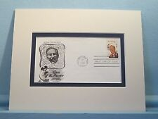 Walt Disney - creator of Mickey Mouse & First Day Cover of his own stamp