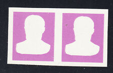 Liberia # 436 MNH IMPERF PAIR Proof of Frame 1966-69 Presidential Set