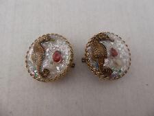 Fun 50's 60's  Vintage Seahorse Earrings