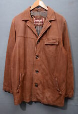 MARLBORO CLASSICS GIACCONE IN PELLE LEATHER JACKET TG M G1145
