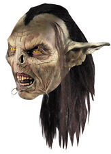 Lord of the Rings Hobbit Movie Goblin Orc Mask Moria Costume Licensed Adult