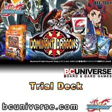 Trial Deck Vol. 1: Dominant Dragons - Future Card Buddyfight FREE SHIP