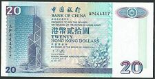 Hong Kong, Bank of China 1994 P-329a UNC 20 Dollars