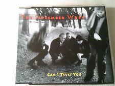 THE SEPTEMBER WHEN - CAN I TRUST YOU - 1993 UK CD SINGLE