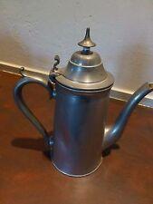 Excellent Antique / vintage pewter teapot [Y7-W7-A8-E9]