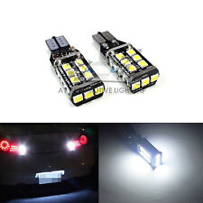 2x T15 Super White 9-30V 2835 800LM CANBUS LED Back Up Bulbs 921 Reverse Light