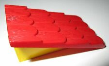 Lego Fabuland 787 Tuile Roof Support with Red rouge Roof Slope jaune yellow