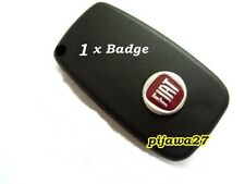 1 Badge Emblem Logo Sticker for Fiat Key Fob Remote 500 GRANDE PUNTO PANDA BRAVA