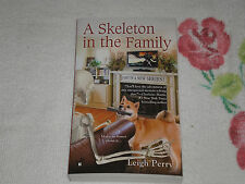A Skeleton in the Family by Leigh Perry aka Toni L. P. Kelner   **signed**