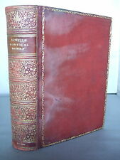 1912 Poems of James Russell Lowell - Leather HB