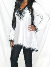 Moroccan Kaftan Top, Tunic, Summer shirt, Beach coverup