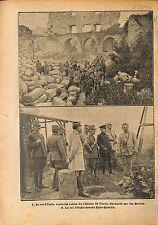 Vittorio Emanuele III di Savoia Victor Emmanuel III  WWI 1917 ILLUSTRATION