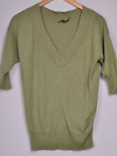 ISW* The Limited Sage Green Cashmere Blend Sweater XS XSmall (20949 eda)