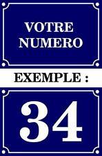 Pegatina adesivi adhesivo sticker numero de calle editable personalizado vinilo