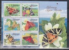GB - ALDERNEY 2012 Tiger Moths/Flowers Mini-Sheet SG MSA466 MNH INSECTS NATURE