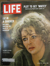 LIFE June 10 1966 Saturn V, E Taylor, 60s Black radical, D Sanders ANCIENT ROME