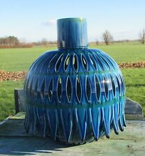 Vintage Rimini Blue Italy Floor Table Lamp Italy Era Bitossi Aldo Londi Blue