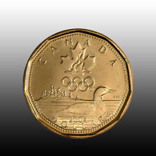 Canada 2004 Olympic Lucky Loonie, Mint Unc.