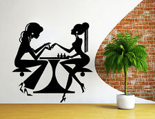 Wall Decals Beauty Salon Nail Art Manicure Vinyl Decal Hairdresser Decor NS1044