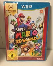 Nintendo Wii U gioco Select: SUPER Mario 3d World WIIU Selects NUOVO & OVP