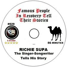 Alcoholics Anonymous AA Speaker CD - Richie Supa Songwriter Tells His Story