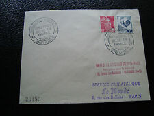 FRANCE - enveloppe 15/7/1951 (cy50) french