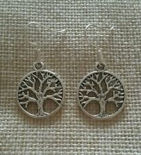 'Tree of Life' Drop/Dangle Earrings.. With a FREE sparkly gift bag.. *Cute gift*
