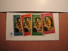 Cayman Islands Stamp Scott# 242-45 Christmas 1969 MH P10