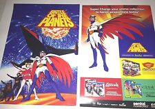 SDCC 2014 BATTLE OF THE PLANETS PROMO POSTER G-FORCE
