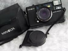 MINOLTA HI-MATIC AF2 35mm FILM CAMERA WITH CASE LOVELY CONDITION