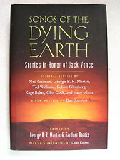 SONGS OF DYING EARTH ed. Signed by GEORGE R R MARTIN / GARDNER DOZOIS (2010) 1st
