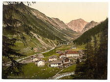 Upper Engadine Scarl Grisons A4 Photo Print