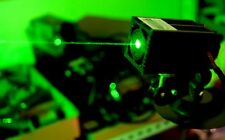 Industrial 100mW 532nm Green Laser Module/Dot Effect with Power adapter